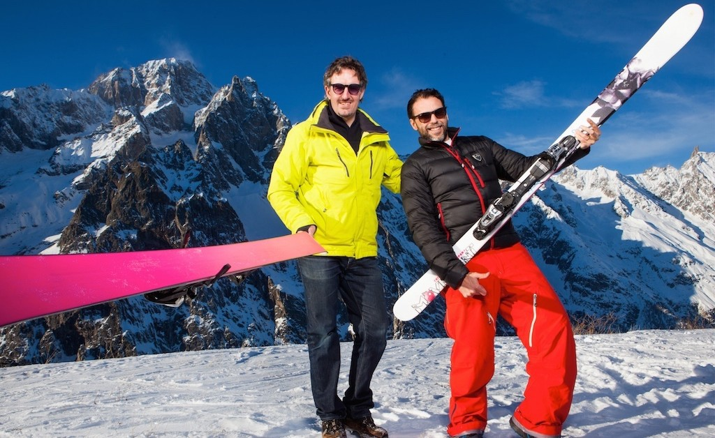 Super G. Or how to start skiing after 20 years