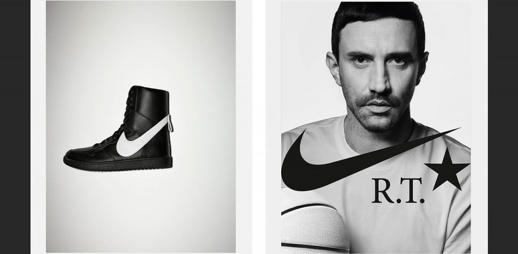 NikeLab presents the Lux High Dunk sneakers signed by Riccardo Tisci