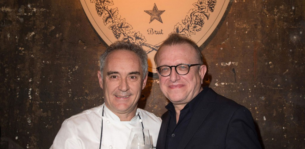 Ferran Adrià is back in the kitchen, but only for a Dom Pérignon