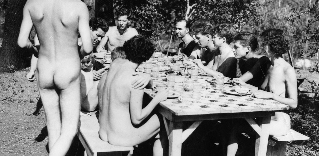 The first restaurant nudist opened in London