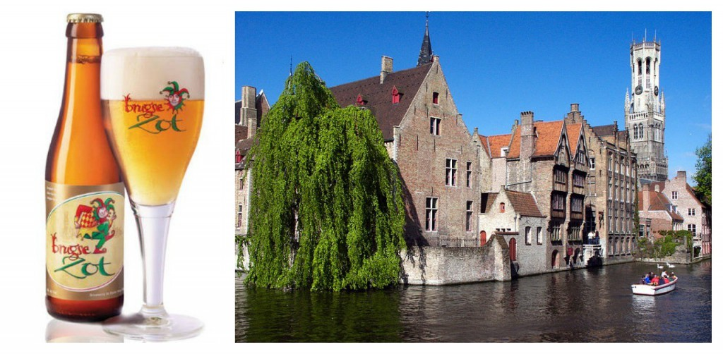 In Bruges comes birradotto, to transport the beer underground