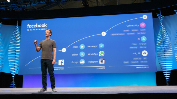 The smartphone is dead. He killed Facebook!