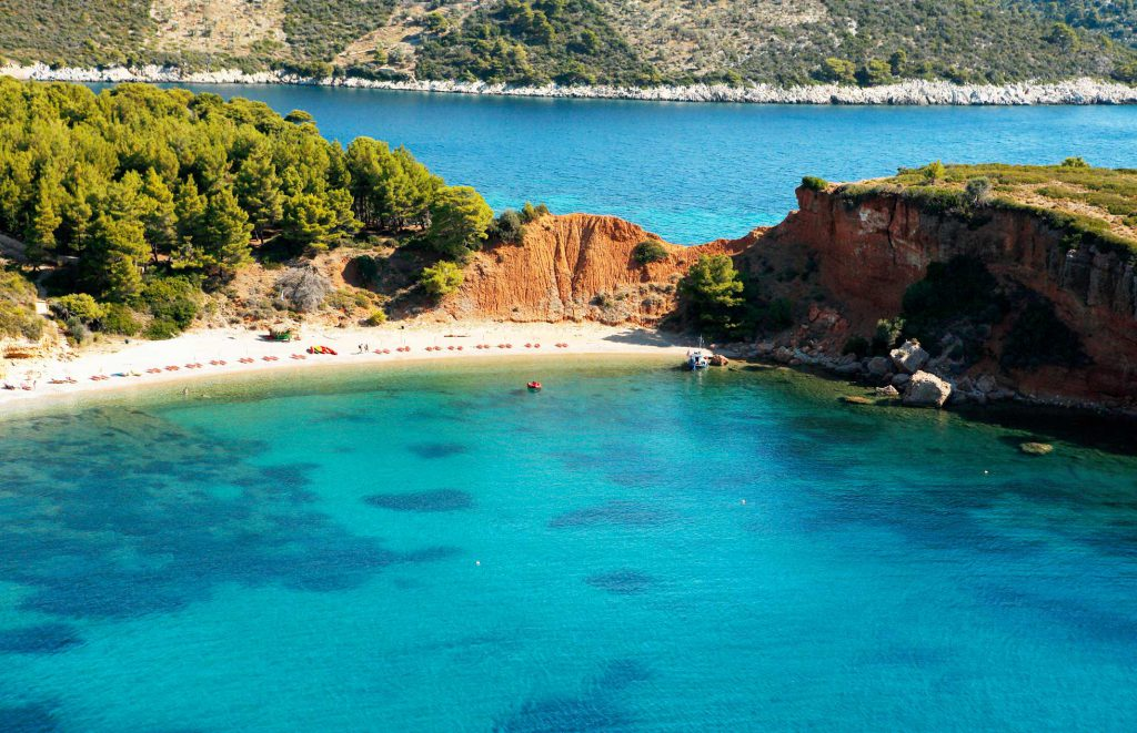 What to do on the island of Alonissos, where the beaches kiss the sea