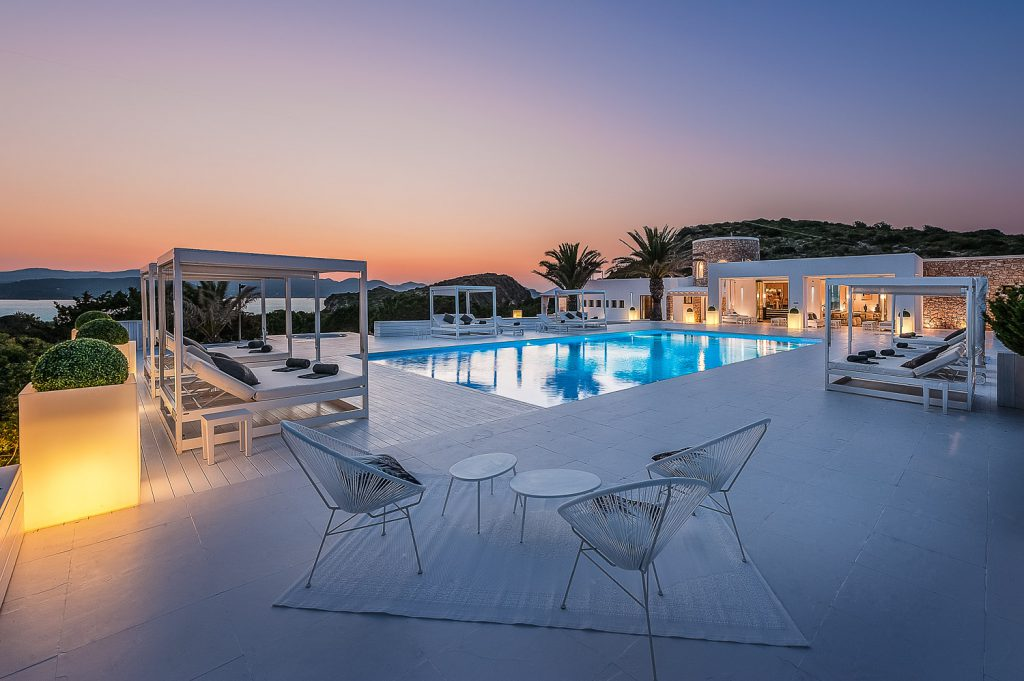 Enjoy both the nightlife and scenery of Ibiza and an intimate getaway at Private Island.