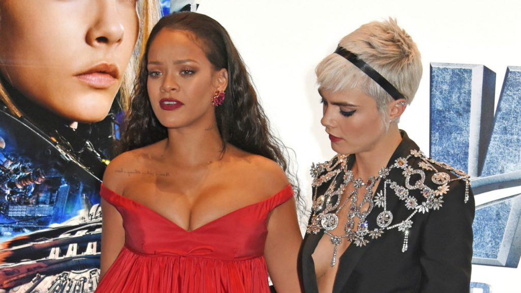 Cara Delevingne and Rihanna, girlfriends on the red carpet