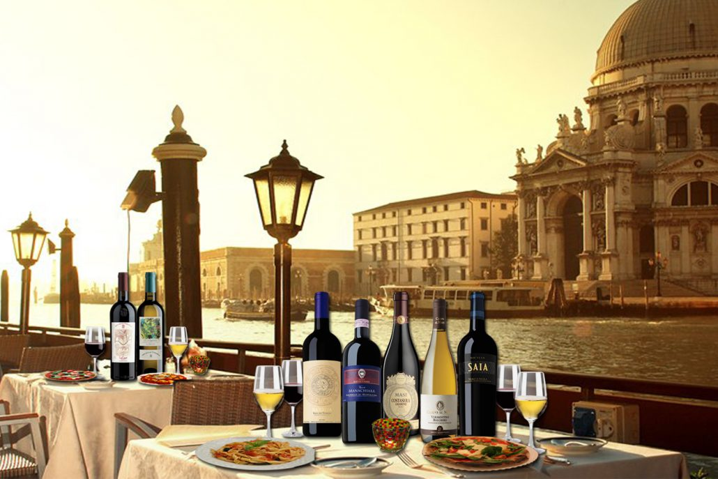 While Italy of wine
